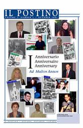 Il Postino, October 2001 issue