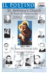 Il Postino, August 2003 issue