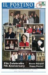 Il Postino, April 2009 issue