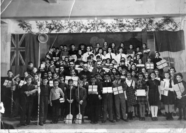St Anthony's School Italian Canadian Children of St Anthony's School La Befana Christmas Party 1938-1939