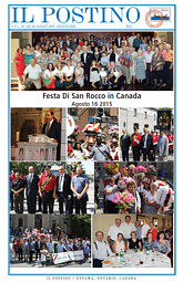 Il Postino, August 2015 issue
